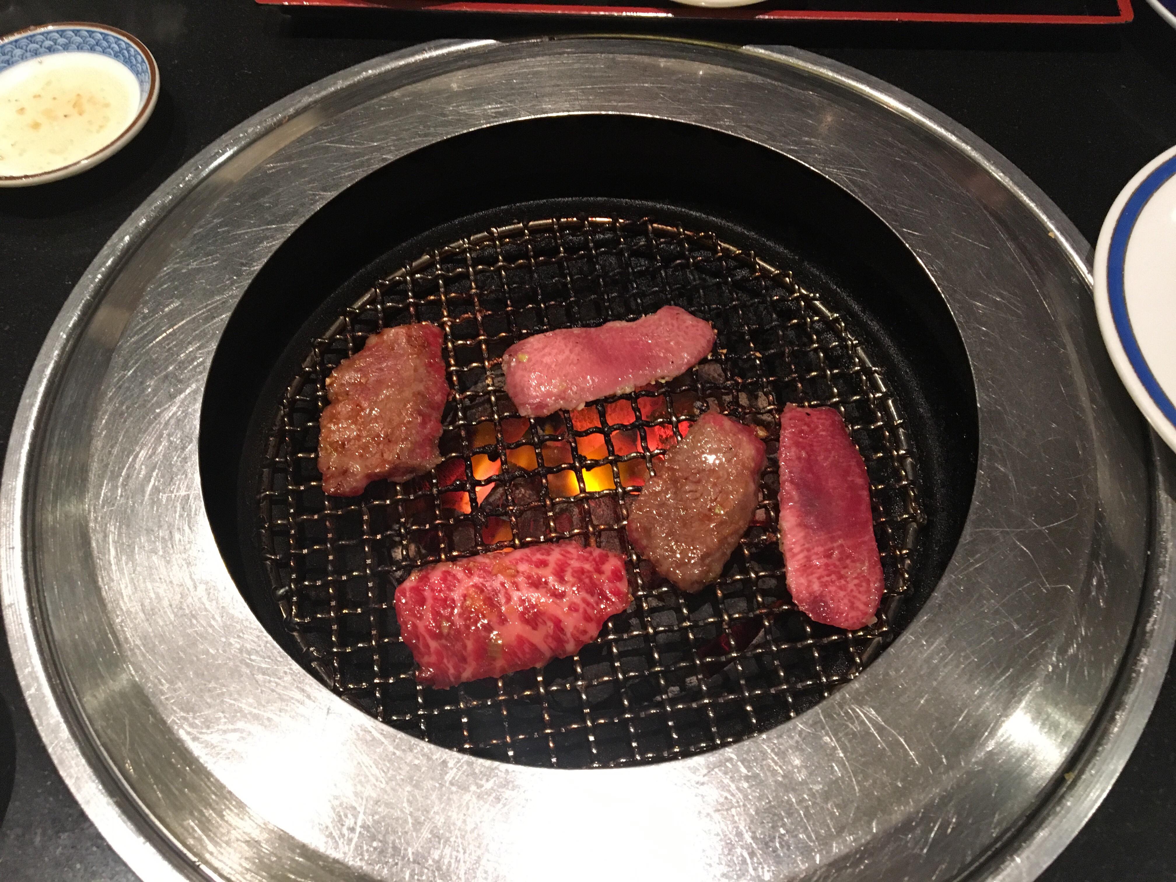 きらく亭の焼肉