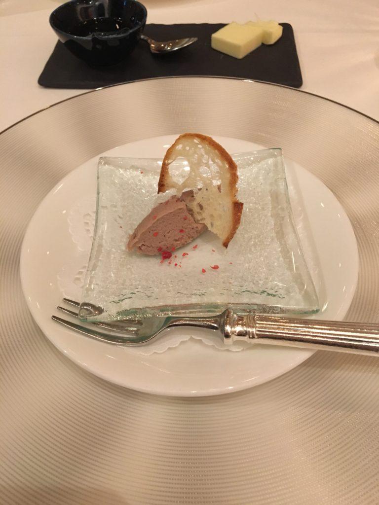 レストランアビエントのコースディナー1