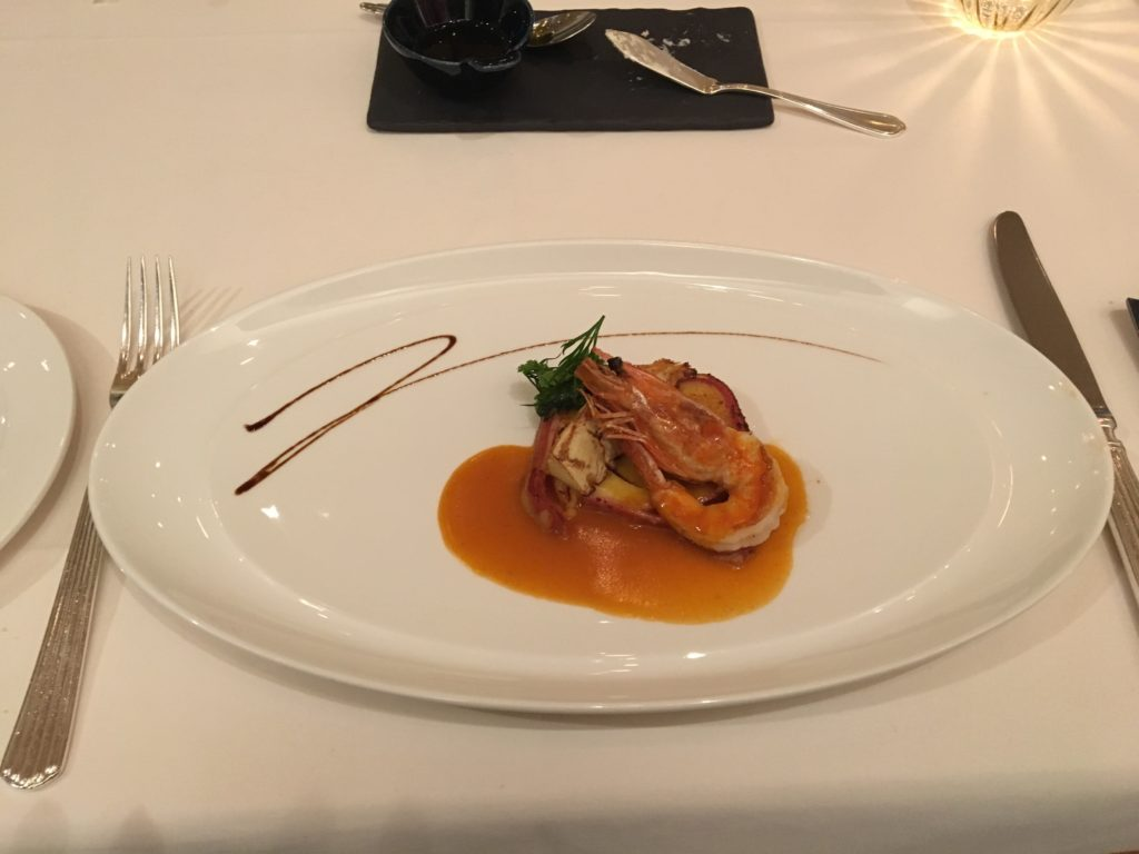 レストランアビエントのコースディナー2