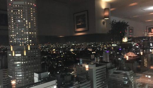 東急エクセルホテルの「レストランア ビエント」は景色も最高!