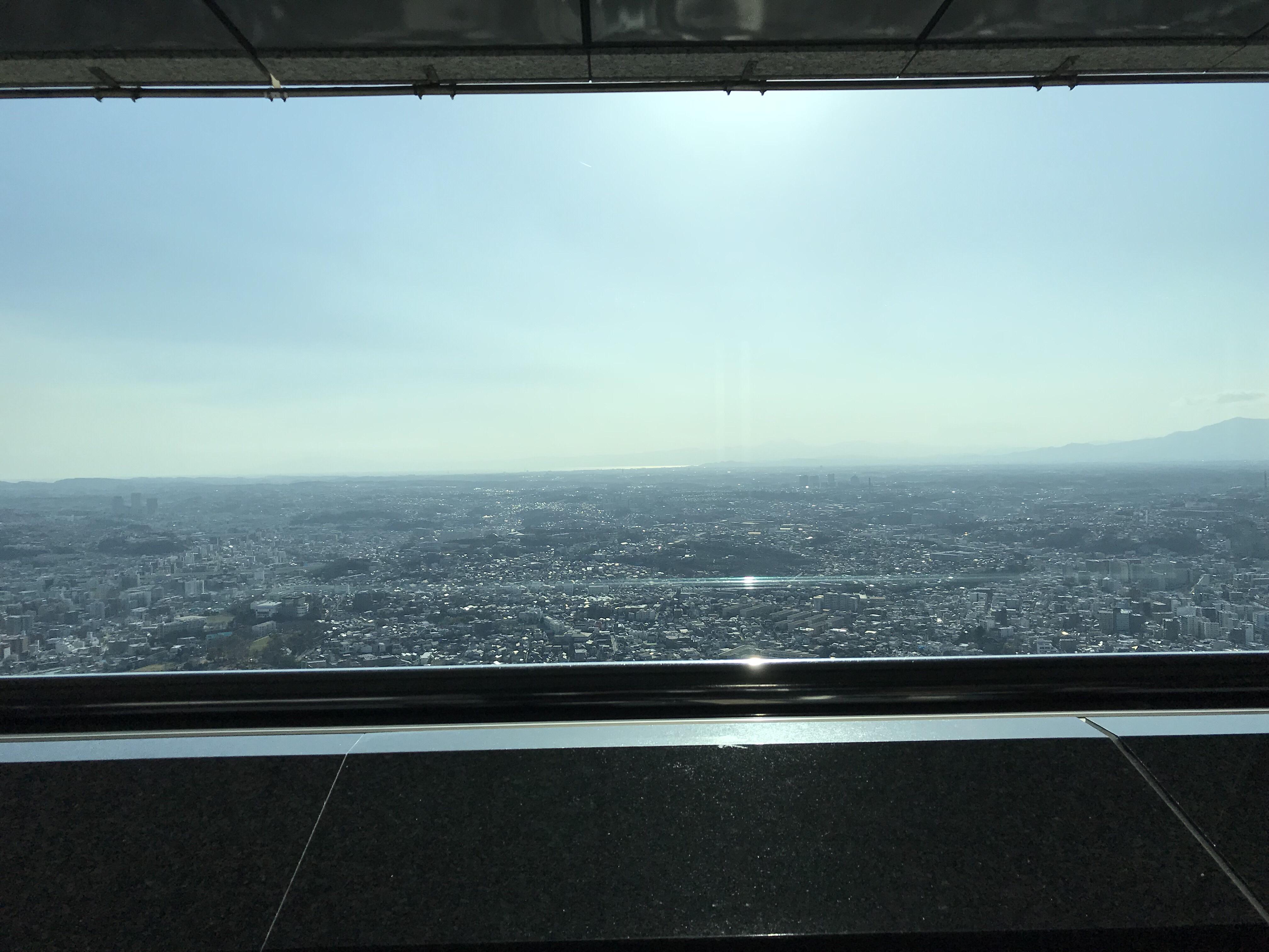 スカイカフェから見える景色