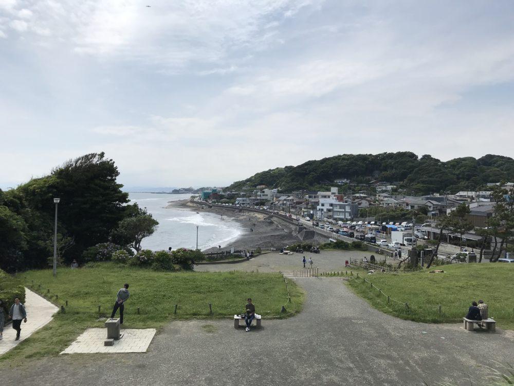稲村ケ崎公園から見える景色1