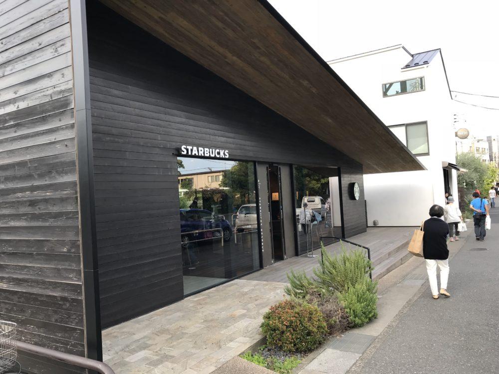 スターバックスコーヒー 鎌倉御成町店の外観