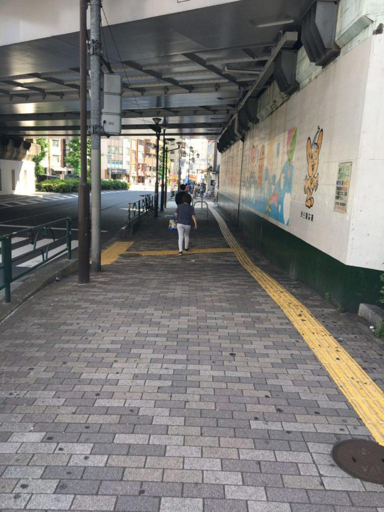 駅からお店までの経路2