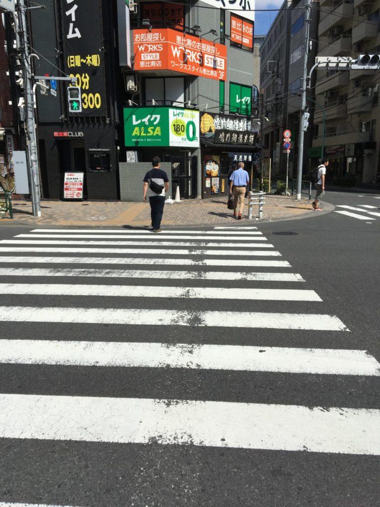 駅からお店までの経路3