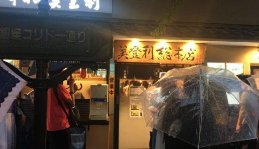 「梅丘寿司の美登利」の銀座店で並ぶ時間を短縮するには、ネット予約がおすすめ!