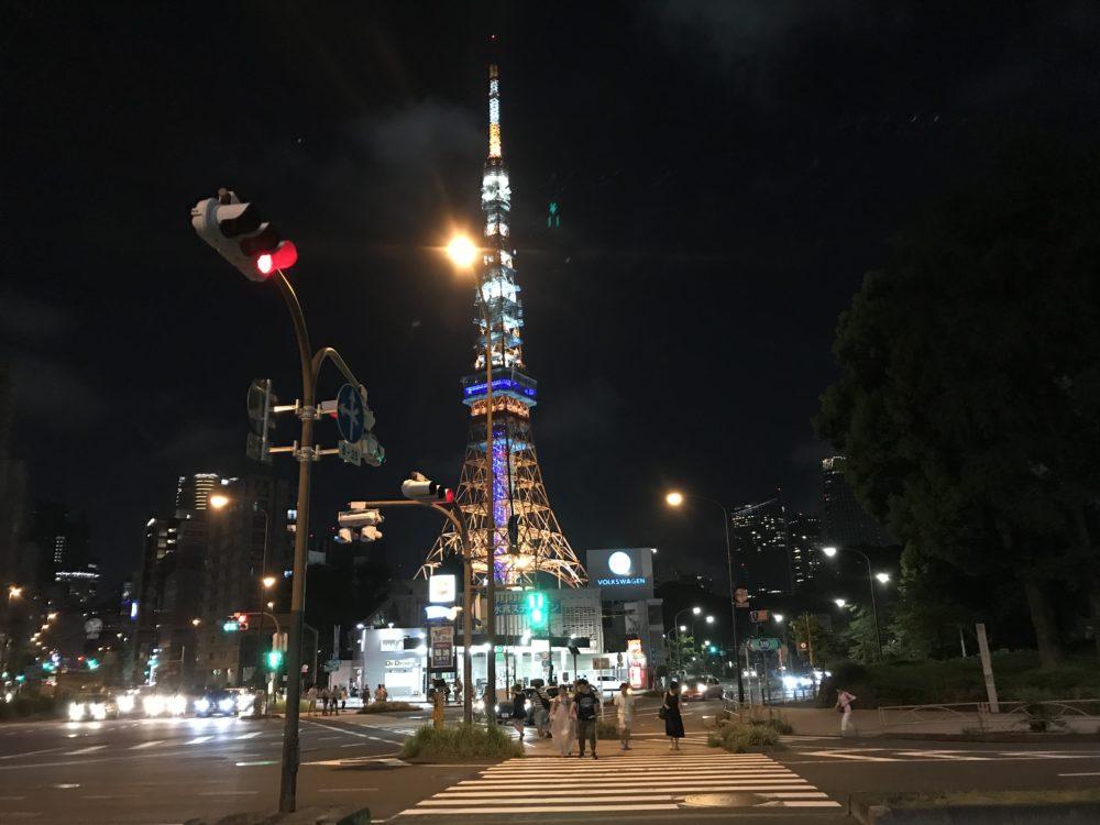東京タワーの外観