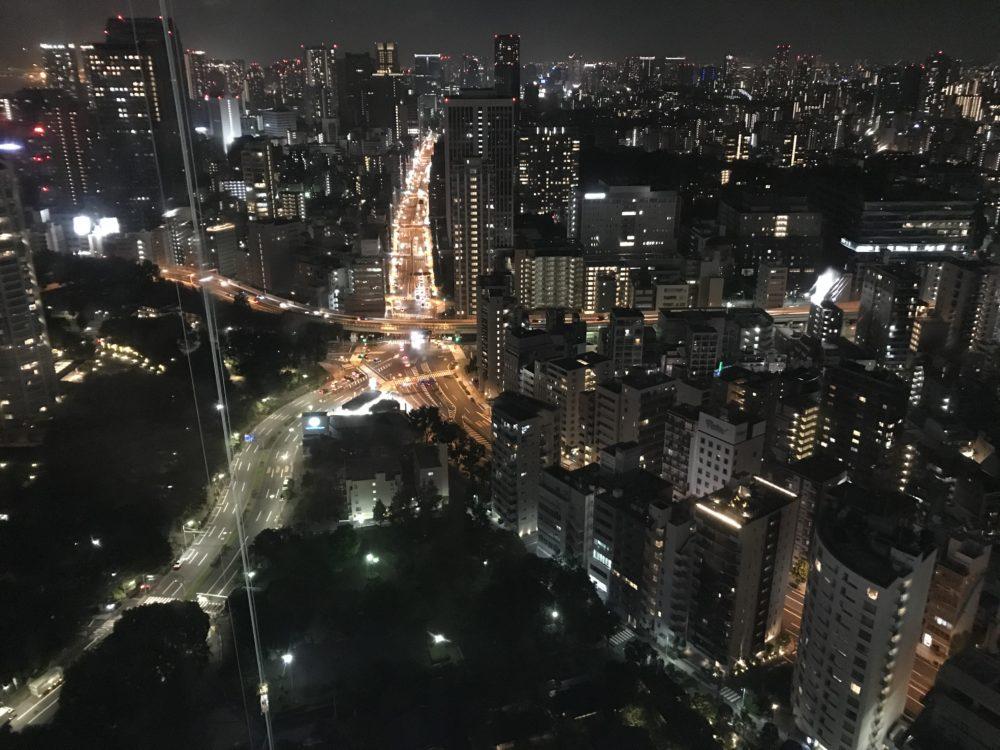 東京タワーから見える夜景2
