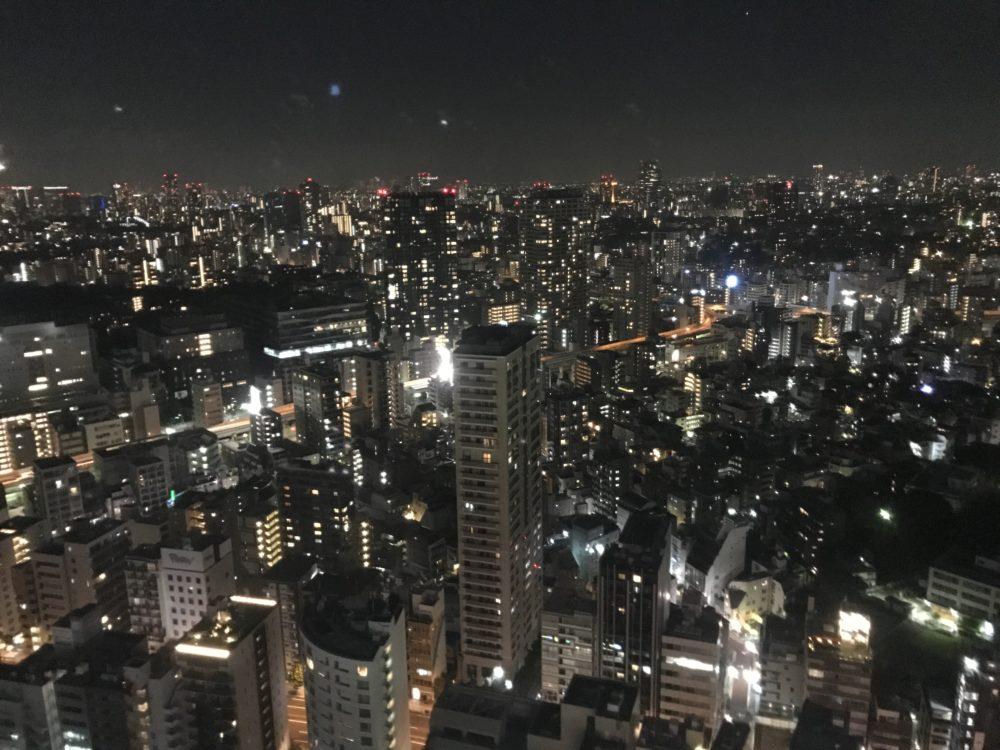 東京タワーから見える夜景1