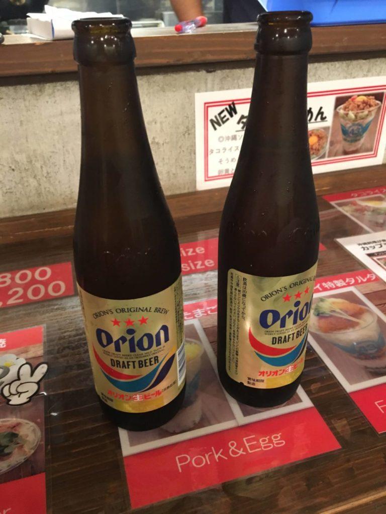 オリオン瓶ビール