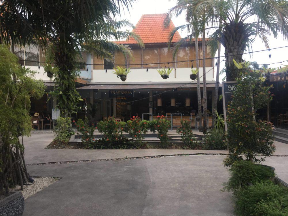 アモーレヴィラの朝食レストラン