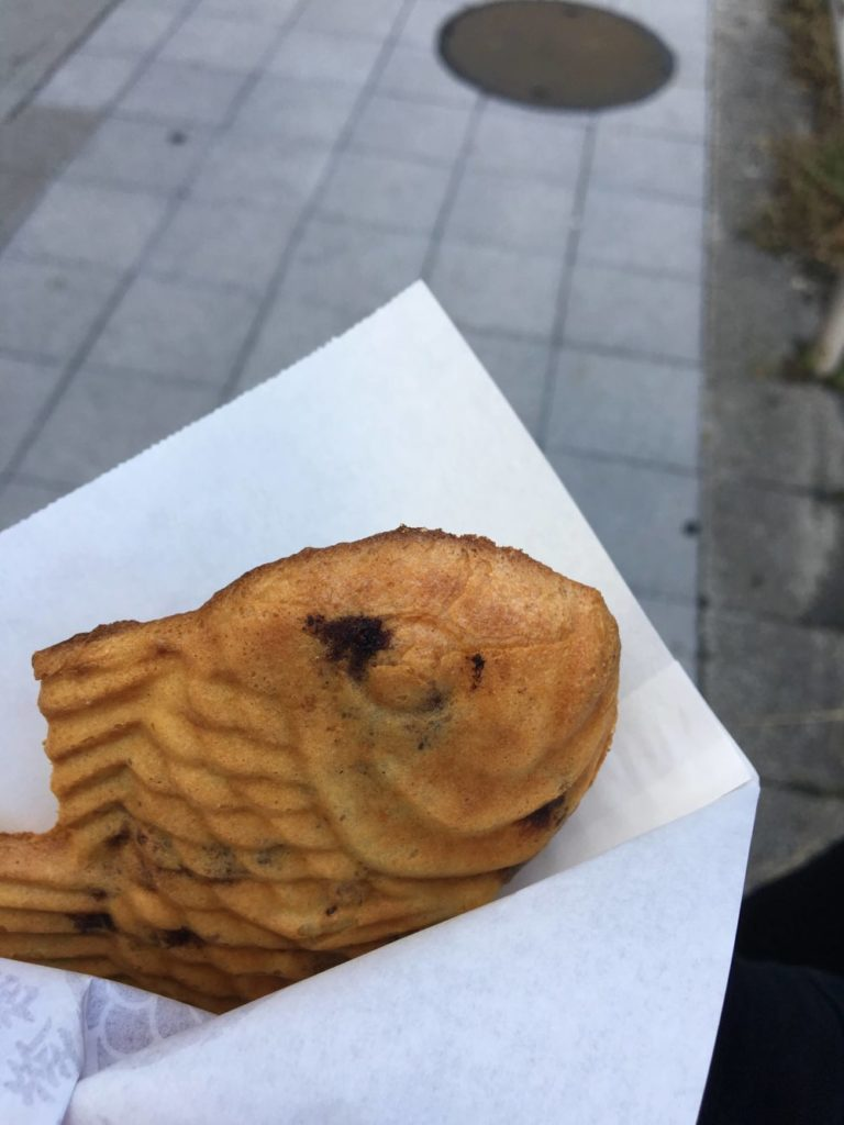 鳴門鯛焼本舗の十勝小豆たい焼き