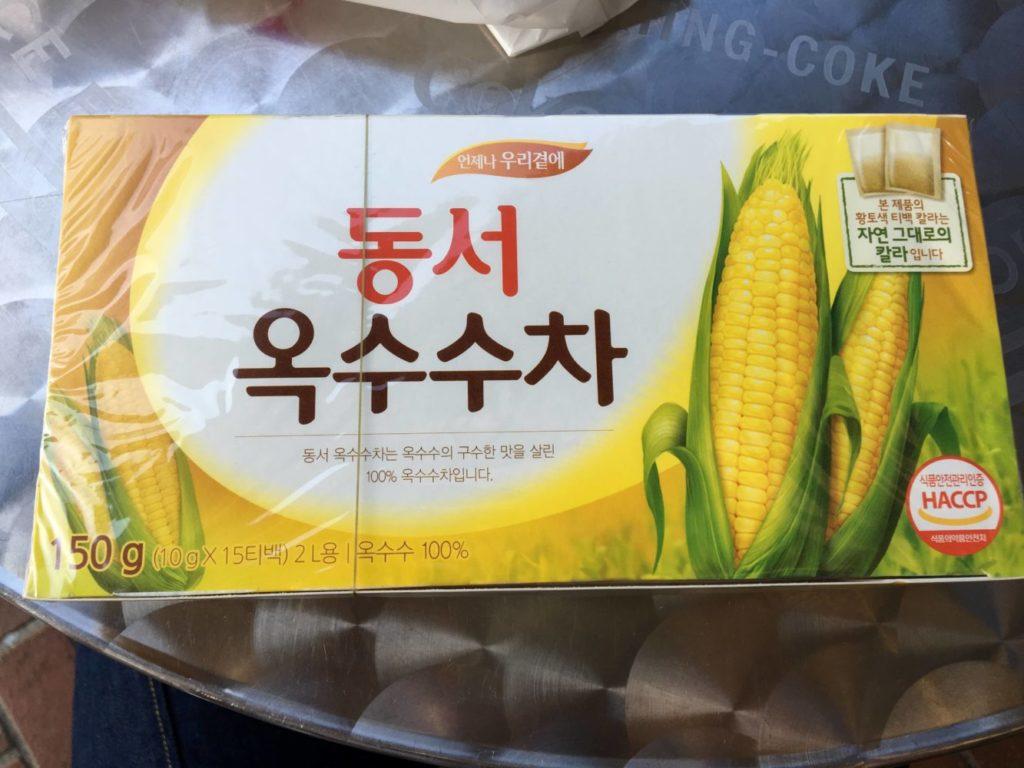萬福臨で買ったトウモロコシ茶