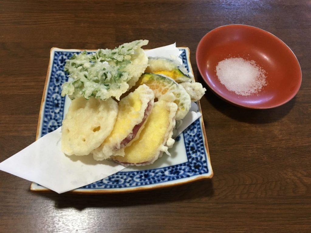 とみやの野菜天ぷら