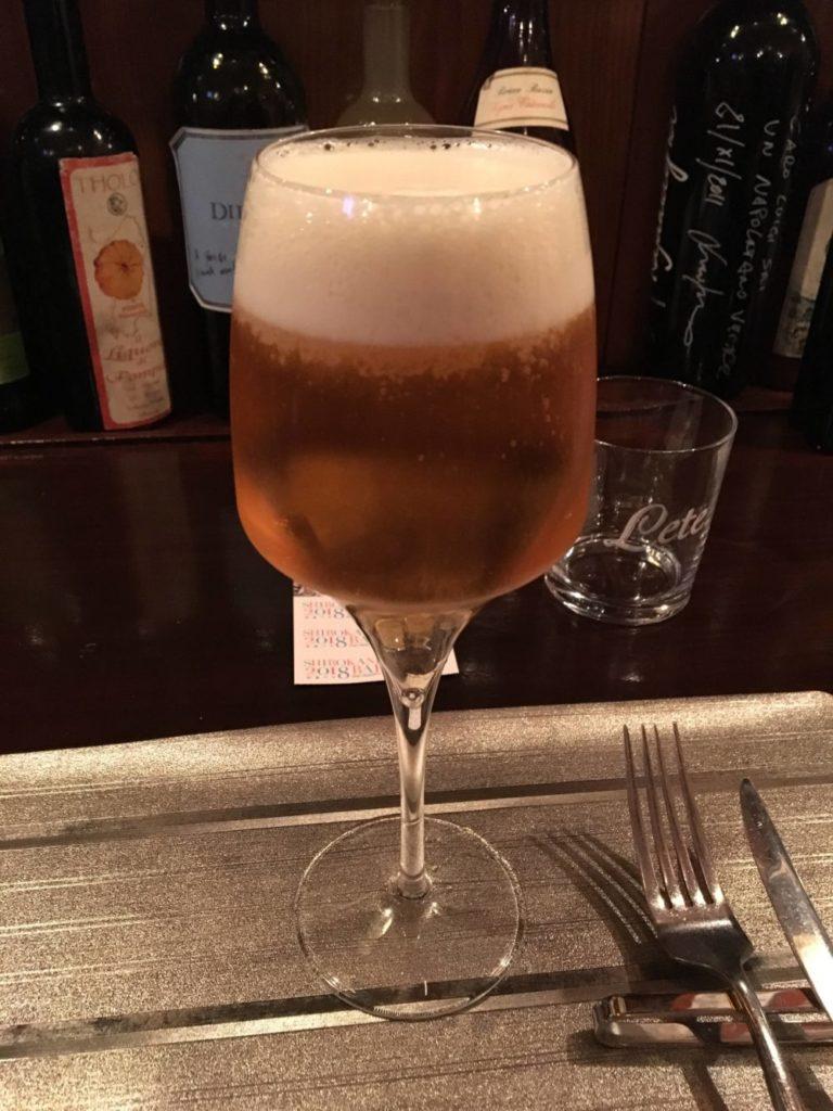 タランテッラ ダ ルイジの生ビール