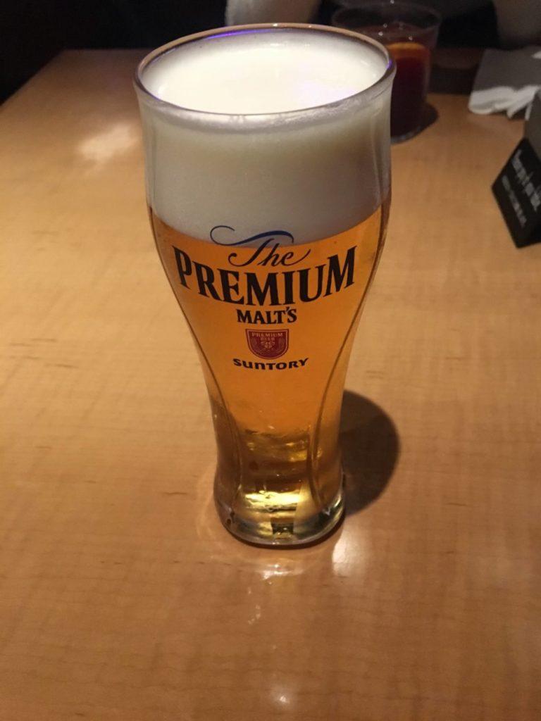 THE RIGOLETTOの生ビール