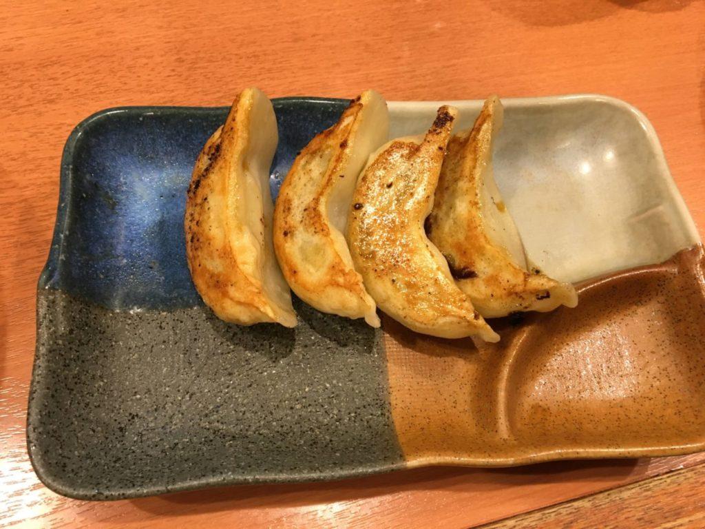 俺流塩ラーメン渋谷三丁目店の餃子