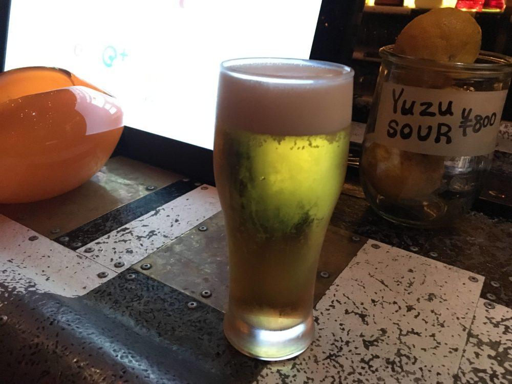 OATHの生ビール