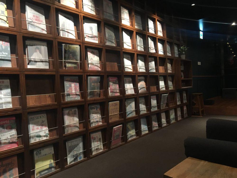 TIMES CAFEのライブラリースペース