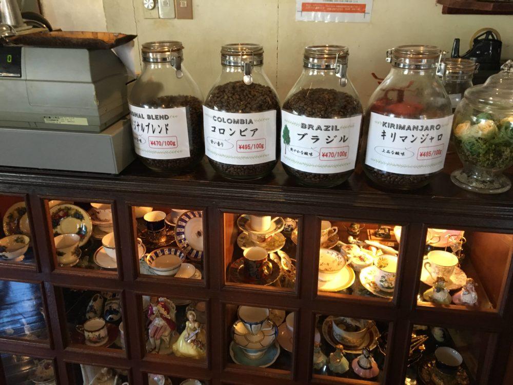 ぶどうの木のコーヒー豆
