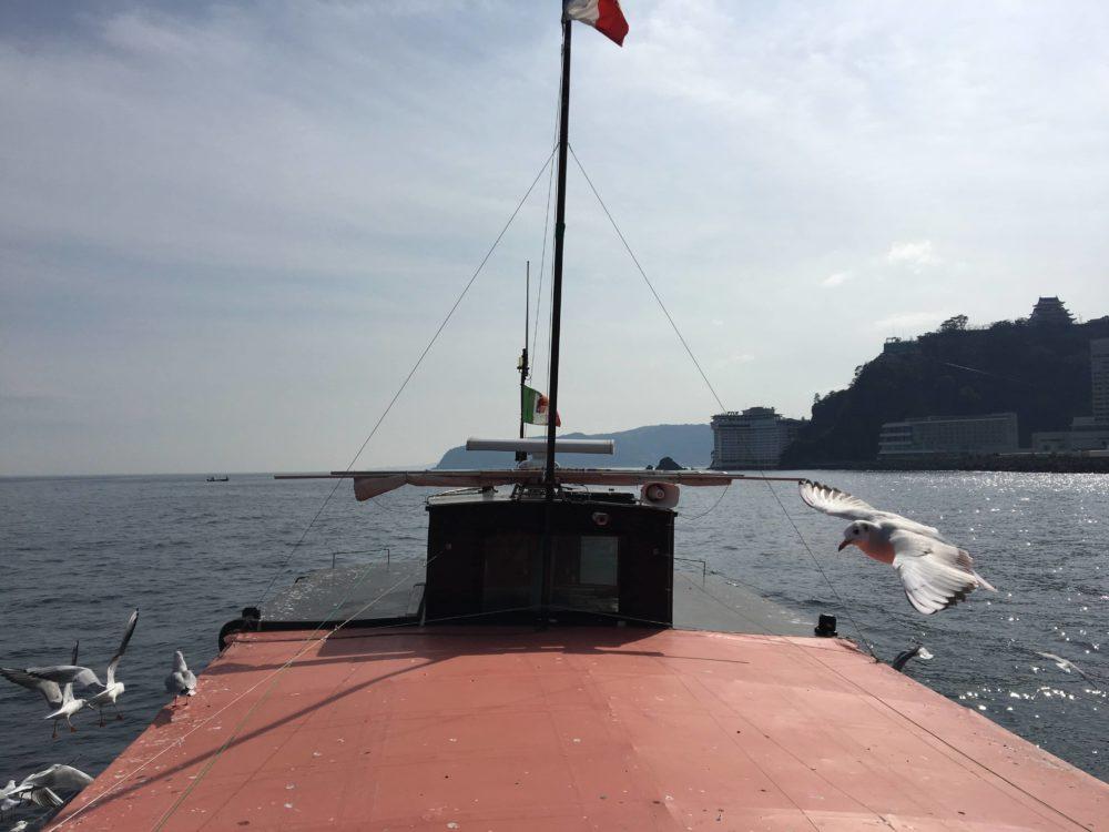 熱海遊覧船サンレモの展望台