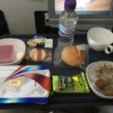 ブリティッシュ・エアウェイズの機内食