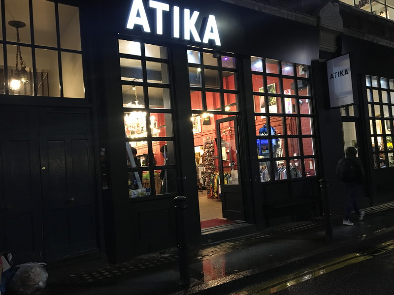 ATIKA Londonの外観
