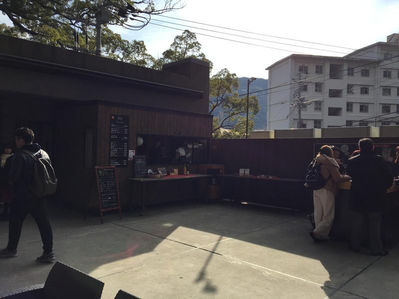 来宮神社のStand Cafe 楠の香