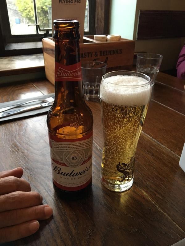 イギリスの瓶ビール