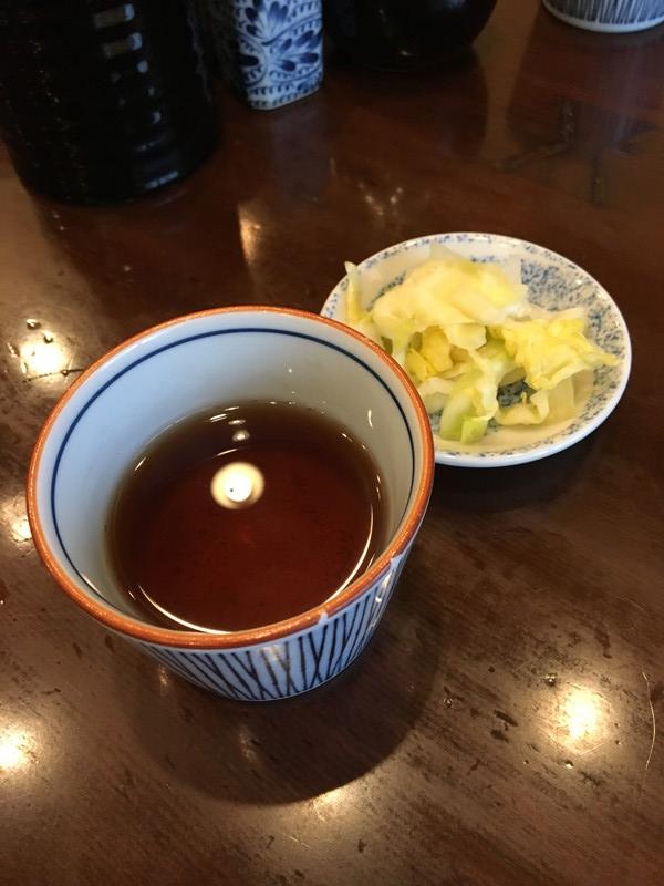 おしんことお茶