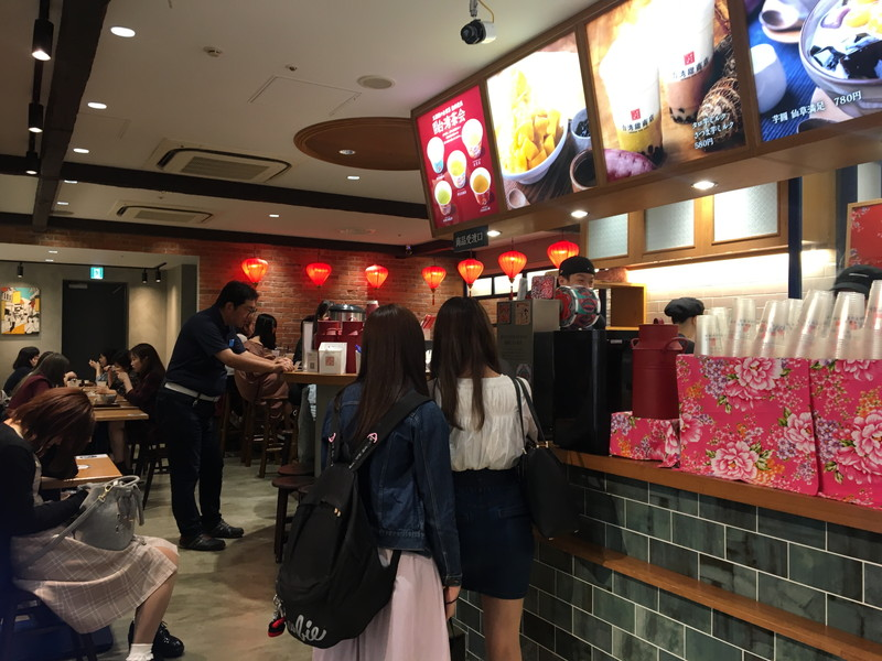 台湾甜商店の店内
