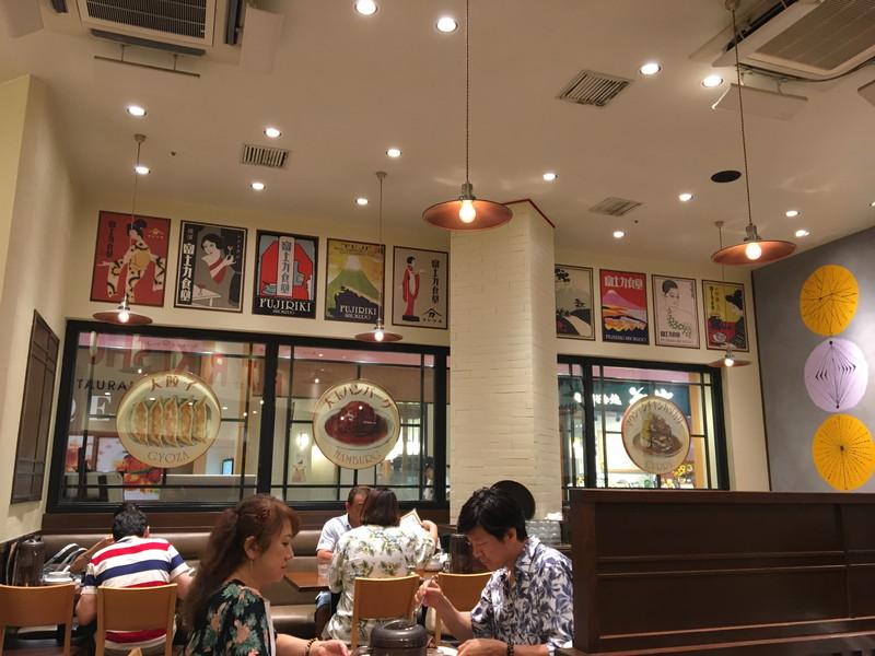 富士力食堂の店内入り口付近の様子
