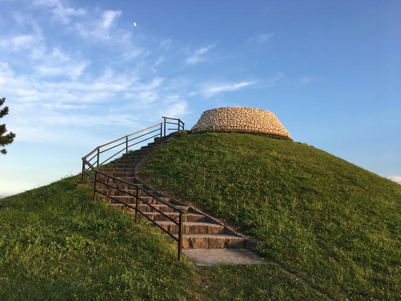 大黒海づり公園にある高台