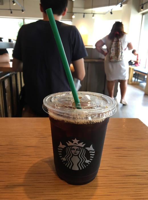 スターバックスコーヒーで頼んだドリップコーヒー