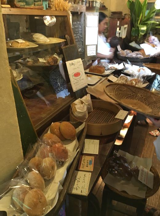 パン屋水円で販売されいるパン
