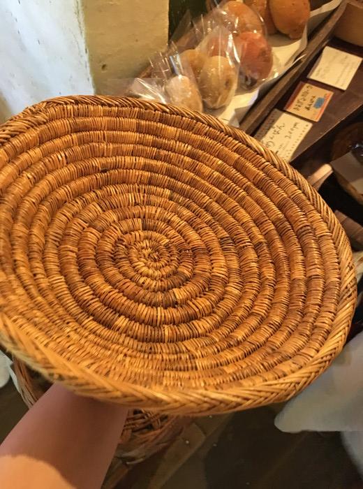パンを購入する際に使用するトレー