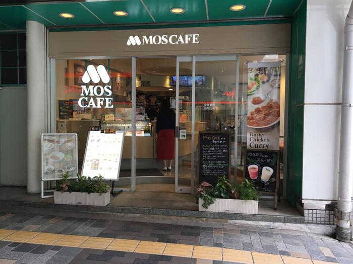 モスカフェ西銀座店の外観