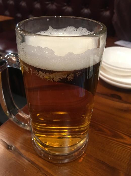 東京情熱名点 点心専門店の生ビール