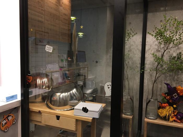 丸作広尾店の厨房