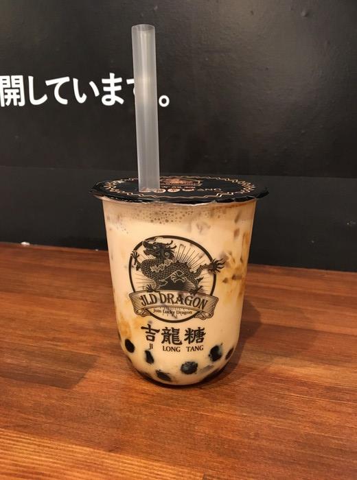 吉龍糖 (ジロンタン)の黒糖タピオカミルク