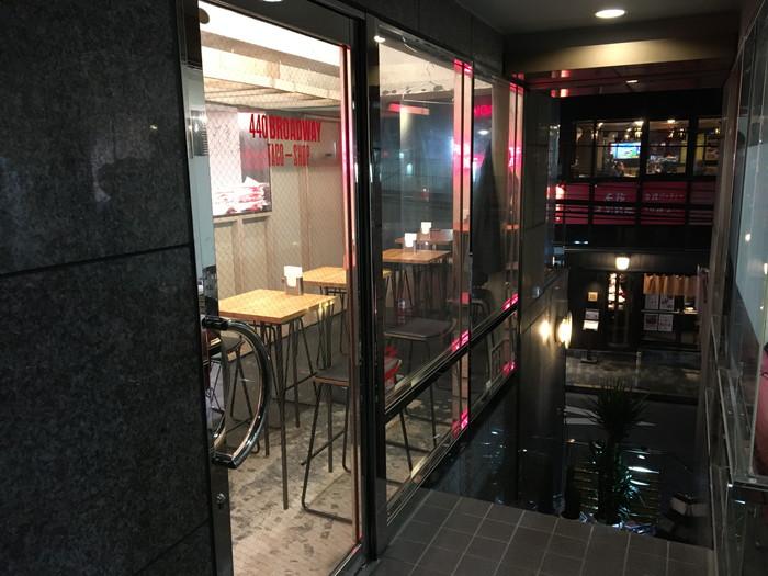 440 BROADWAY Taco Shopの入り口