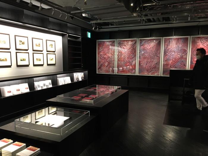 蔦谷書店 六本木2階アートギャラリーのコーナー