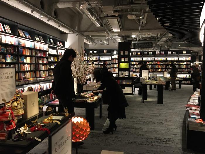 蔦谷書店 六本木1階ワークスタイルのコーナー