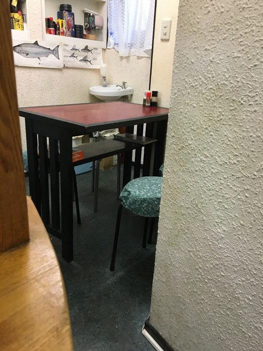 酒菜 きいちのテーブル席